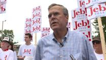"Jeb Bush: ""No tolerance"" for Trump's views on Mexican immigrants"
