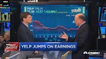 Cramer's Mad Dash: Yelp jumps on earnings