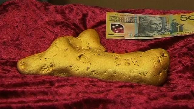 12-pound gold nugget found in Australia