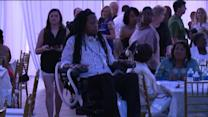 New Orleans Saints Show Support for Paralyzed Football Player
