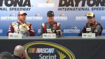 Drivers talk about rain shortened race