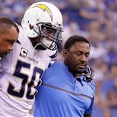 Manti Te'o is latest Chargers star to go down with season-ending injury