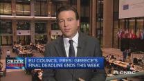 Euro zone sets 'final deadline' for Greece