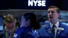 Wall St. opens flat after six-day winning streak