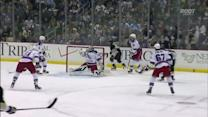 Jokinen pushes a one-timer top-shelf
