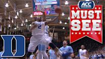 Duke's Quinn Cook Goes Coast to Coast and Finishes with Reverse Lay-in | ACC Must See Moment