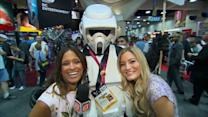 iJustine Hunts Down the Craziest Costume at Comic-Con Day 2