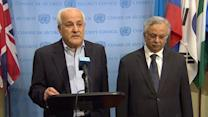 U.N. Security Council urges ceasefire between Israel,Palestinians