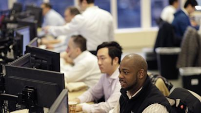 Stocks veer higher in afternoon trading; oil rises