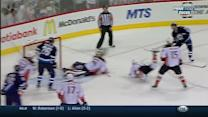 Andersen sprawls out to rob Little with the glove