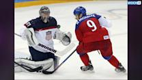 US Tops Czechs 5-1, Moves To Olympic Hockey Semis