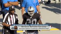 What type of production will Darren McFadden find in Dallas?
