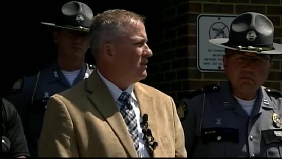 Raw video: KSP addresses Bardstown officer's slaying
