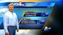 John Cessarich's forecast for October 24, 2013