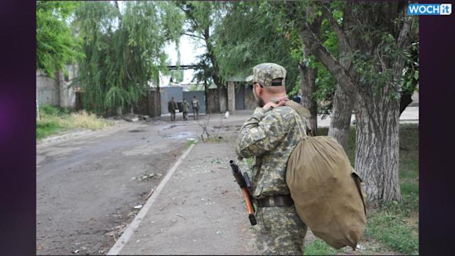 Separatists In Eastern Ukraine Attack Border Post
