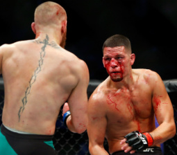Nate Diaz Could Be In Hot Water For Using A Vape Pen At UFC 202