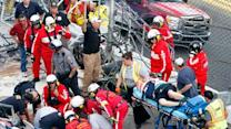 33 Injured When Car Sails Into Fence at Daytona