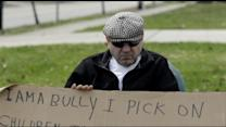 Man Ordered to Wear 'I Am a Bully' Sign