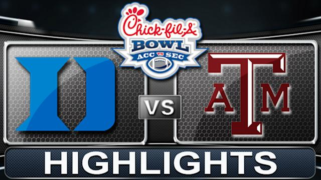 Duke vs Texas A&M | Chick-fil-A Bowl | 2013 ACC Football Highlights
