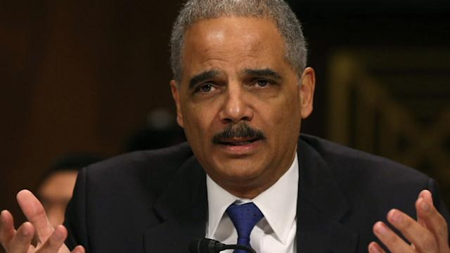 ERIC HOLDER RECOVERING