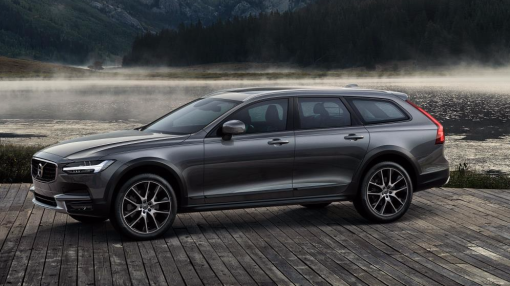 Volvo's newest station wagon is off-road rugged