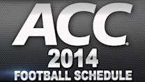 ACC Football Schedule Release | 5 Games to Watch