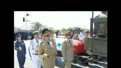 Funeral held for Assad regime senior officials