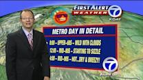 Byron's 7-day morning forecast for June 22th