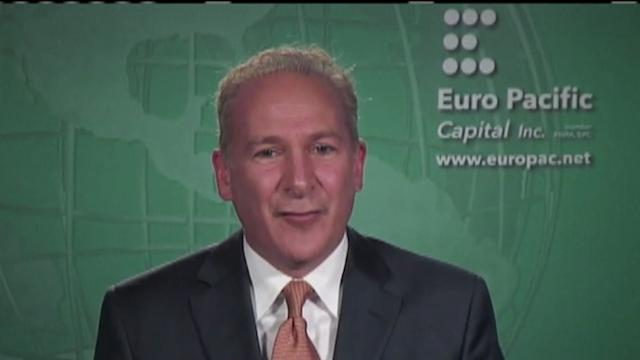 Why the gold surge is just starting: Peter Schiff