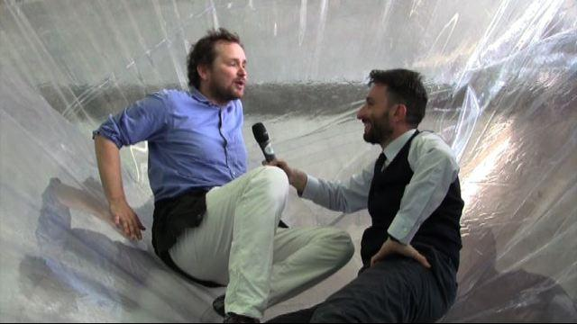 Saraceno in Hangar, intervista