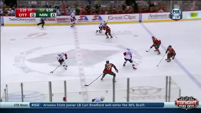 Ottawa Senators at Minnesota Wild - 01/14/2014