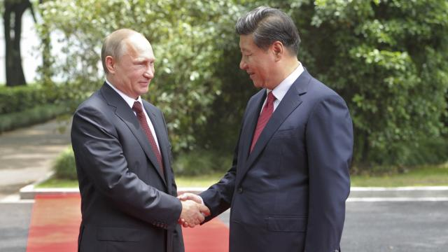 Uneasy alliance on display as Russian, Chinese leaders meet