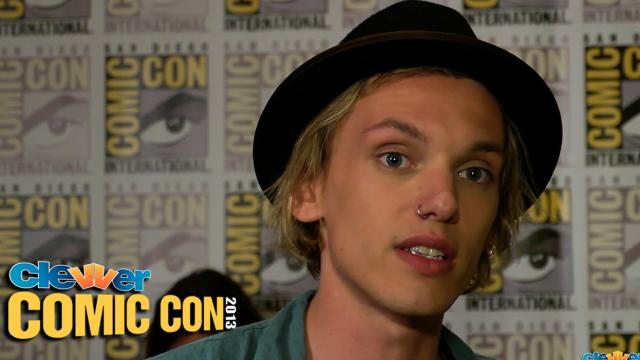 Jamie Campbell Bower Talks Favorite Scene in The Mortal Instruments: 2013 Comic-Con