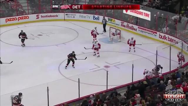 Detroit Red Wings at Ottawa Senators - 02/27/2014