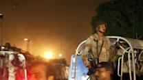 Raw: Deadly Attack on Pakistan Airport