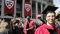 Harvard's best degree: Dropping out?