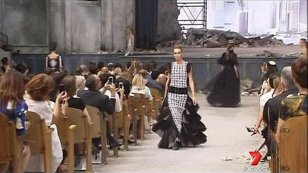 Chanel coouture show
