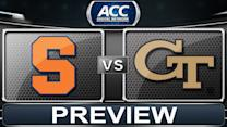 Syracuse vs Georgia Tech Preview