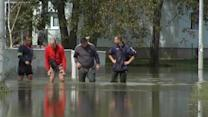 Flooding puts hundreds of homes at risk in northwest Bosnia