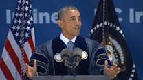 Obama addresses climate change in UC Irvine commencement speech