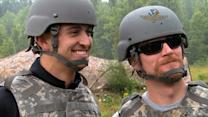 Junior, Rahal train with National Guard