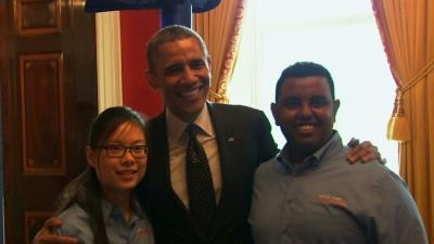 Obama Congratulates Student Scientists
