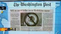 """Headlines: NFL official to meet with Native American group about use of """"Redskins"""" name"""