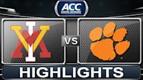 VMI vs Clemson | 2013 ACC Basketball Highlights
