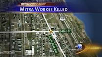 Metra Electric train strikes, kills worker on South Side