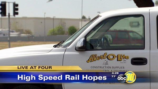 High Speed Rail works to attract help from Valley businesses