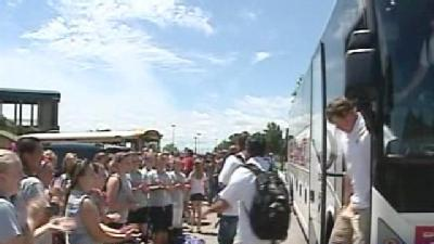 CWS-Bound Sooners Return To Norman