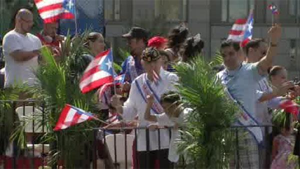 Day of celebration of Puerto Rican pride