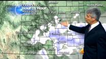 Monday Evening Forecast: Much Colder Weather With Light snow Heading For Denver