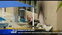 Fire and vandalism at La Jolla child care center